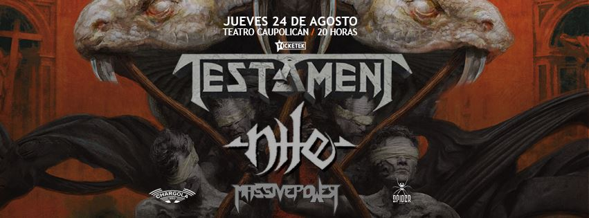 24.08 ~ Testament ~ Nile ~ MassivePower